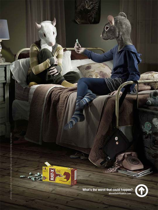 rats influence funny ads