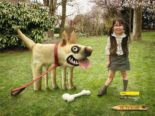 weird dog funny ads