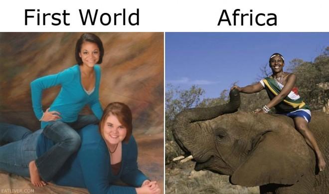 a elephant lady