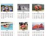 Calender for Fat People