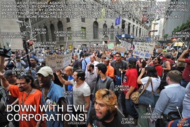 fight against corporations