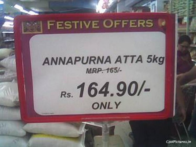 great discount