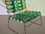 Handmade Chair with Bottles
