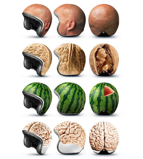 helmets make riding motorcyles safer