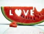 Love - Melon carving