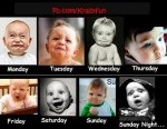 Monday to Sunday