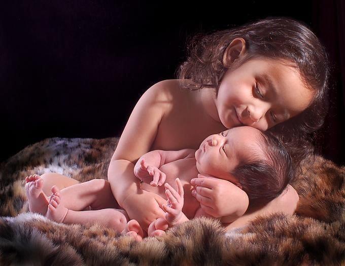 beautiful picture siblings