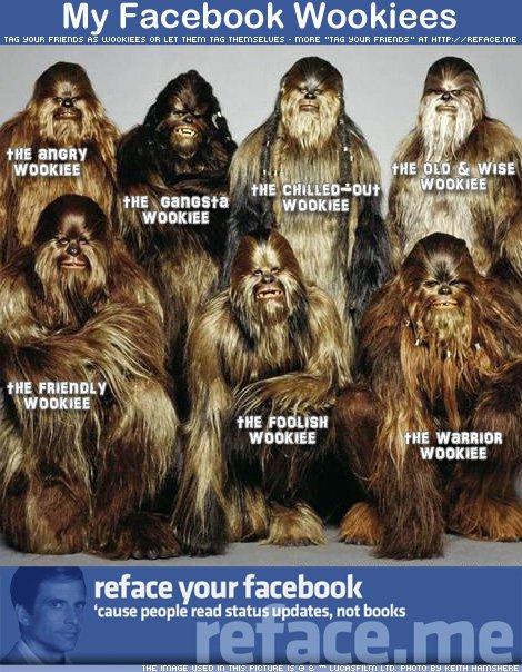 my facebook wookiees