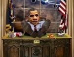 Obama-Reflecting