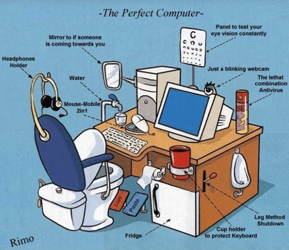 The perfect Computer table