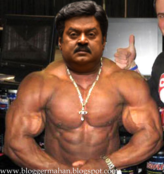 body builder karuvayan