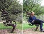funny tree chair