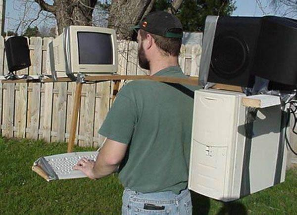 moving computer table