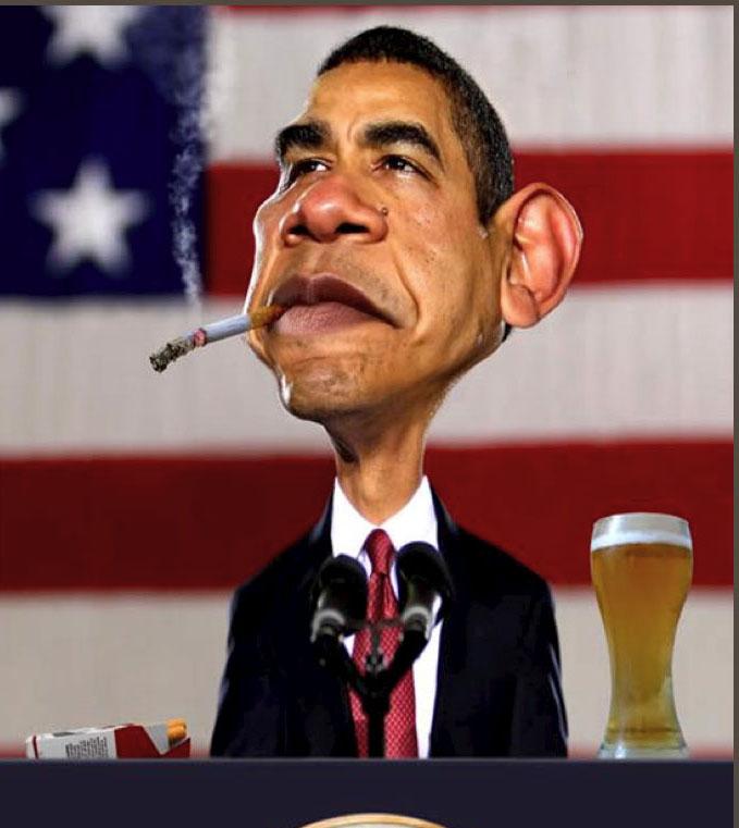obama caricature new