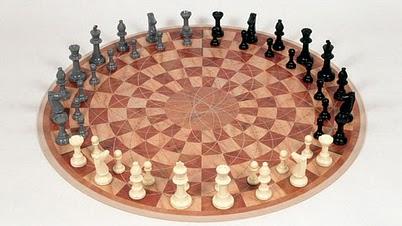 round chess board