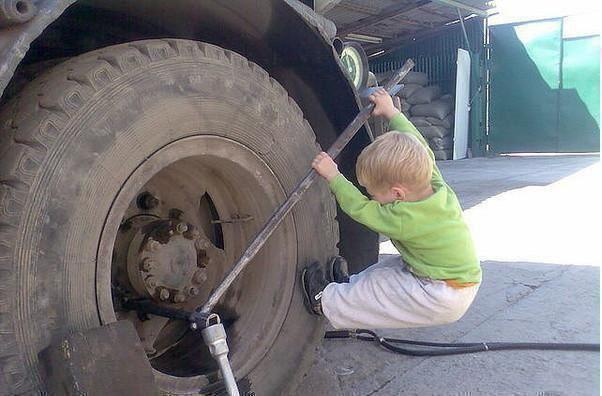 young mechanic