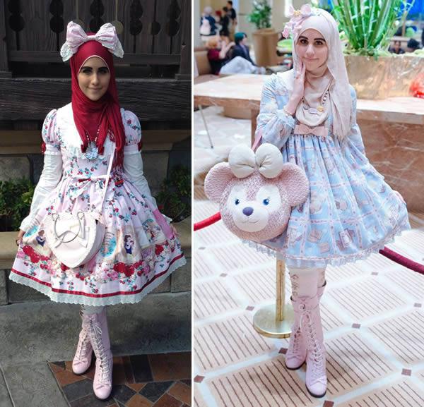 muslim lolitas funny fashion trends