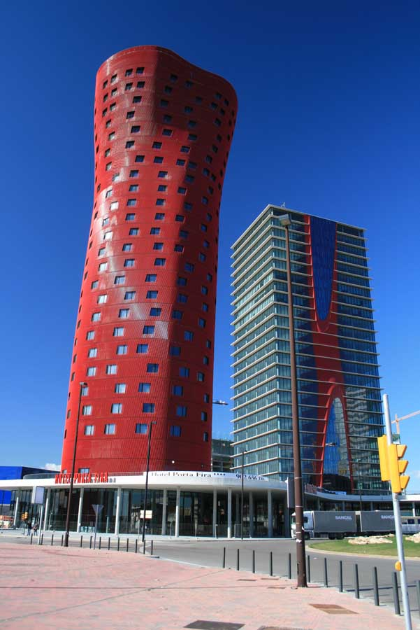 porta fira hotel barcelona architecture photography