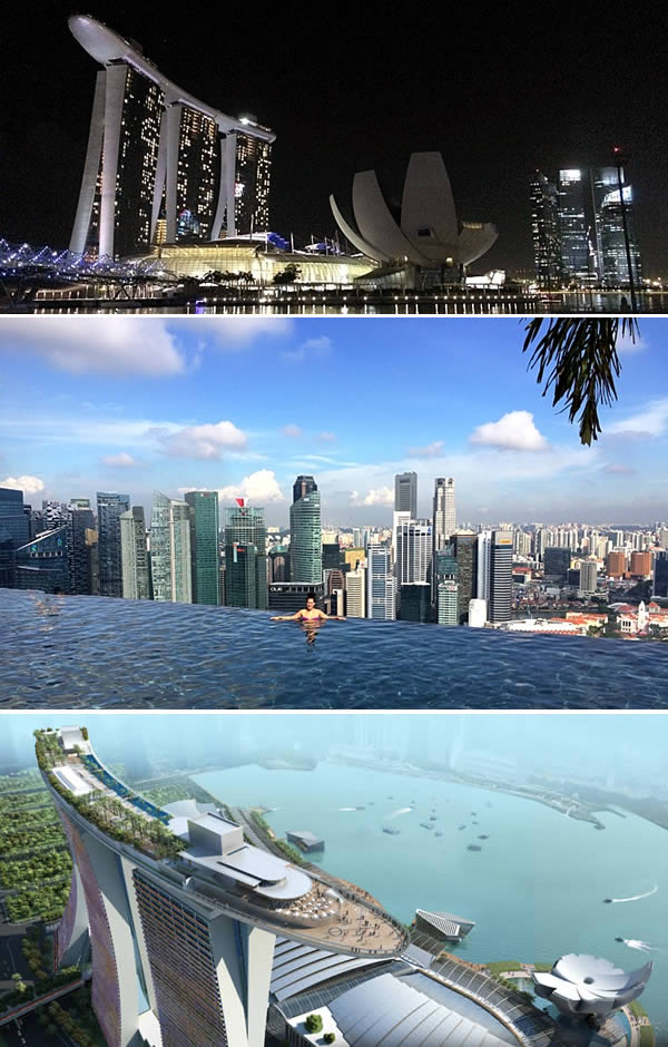 marina bay sands hotel singapore modern architectural wonders