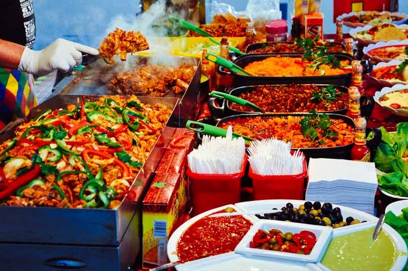 london vegetable and fruits market