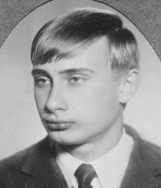 vlagyimir putyin celebritie old photo