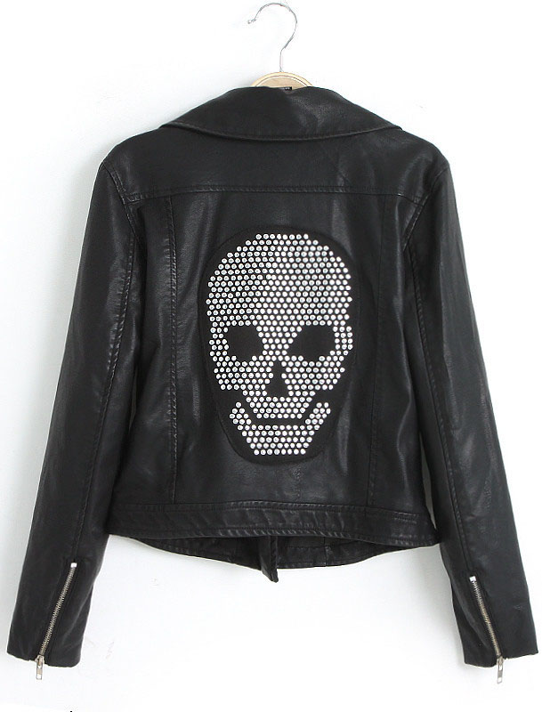 creative jacket skull art idea