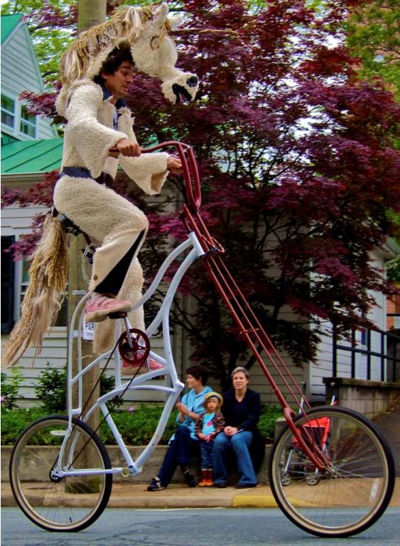creative bike design photography