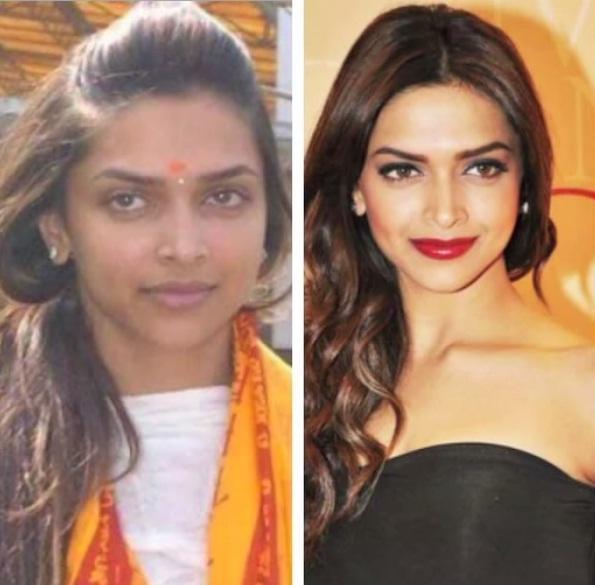 deepika padukone celebrities without makeup