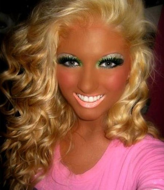 3 funny makeup picture