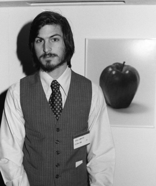 steve jobs celebritie old photo