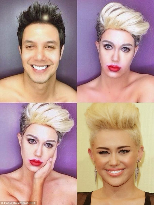 makeup artists transformation celebrities