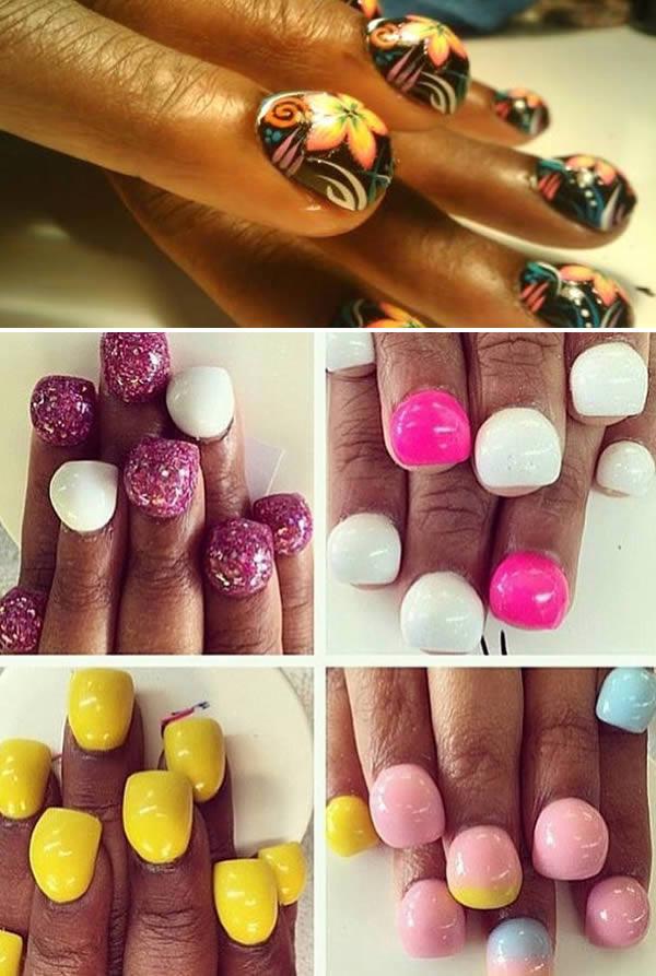 bubble fingernails funny fashion trends