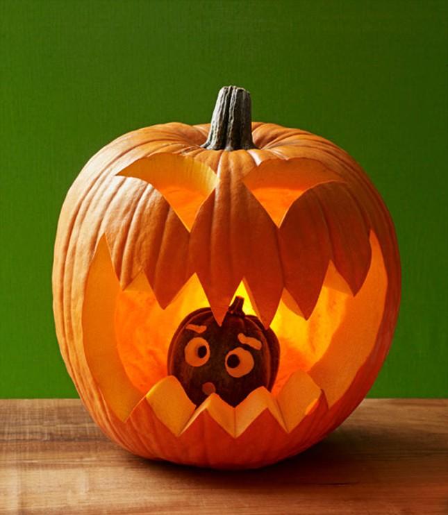 cannibal cute pumpkin pumpkin carving idea