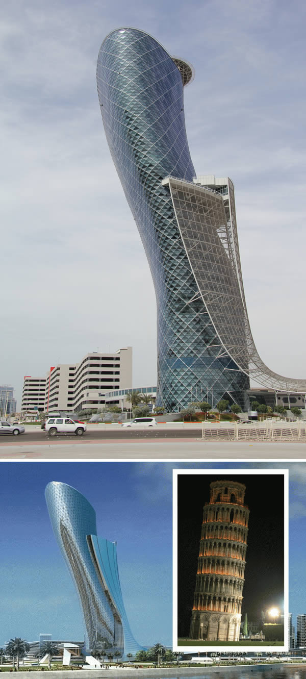 capital gate modern architectural wonders