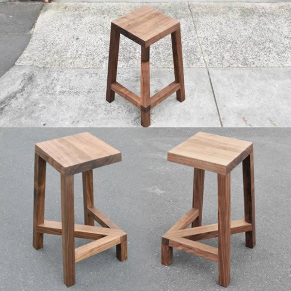legless illusion stool