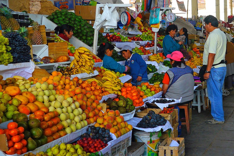 vegetable and fuits market