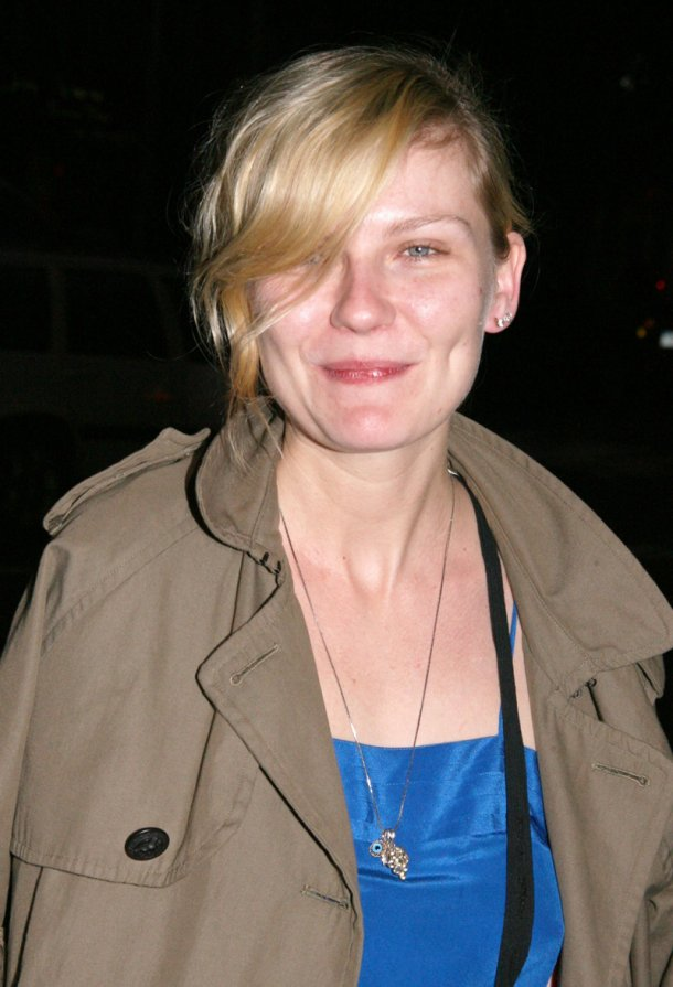 kirsten dunst celebrities without makeup