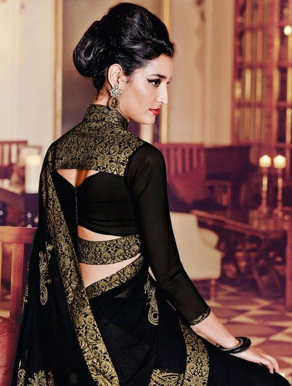 beautiful blouse design full hand