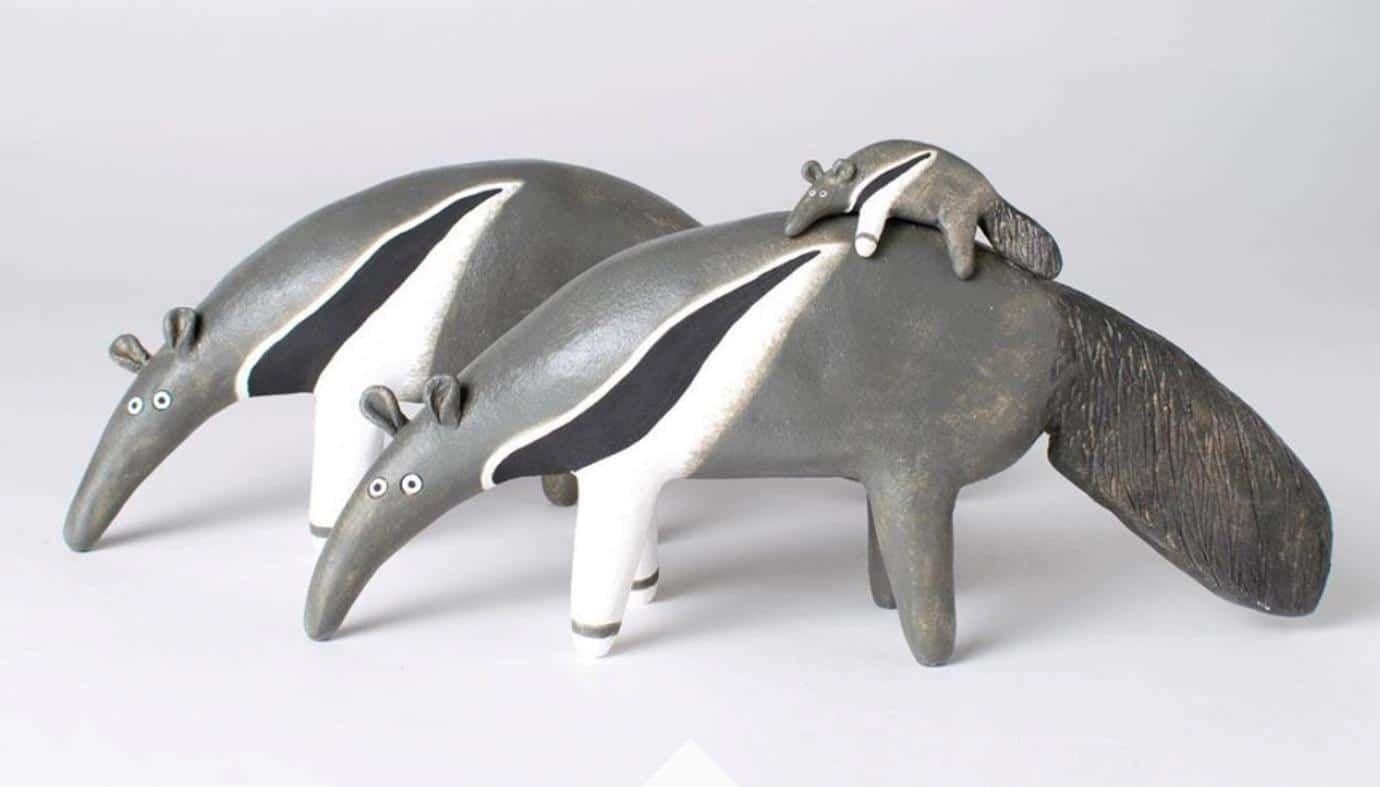 funny ceramic artwork noseymungo helen burgess