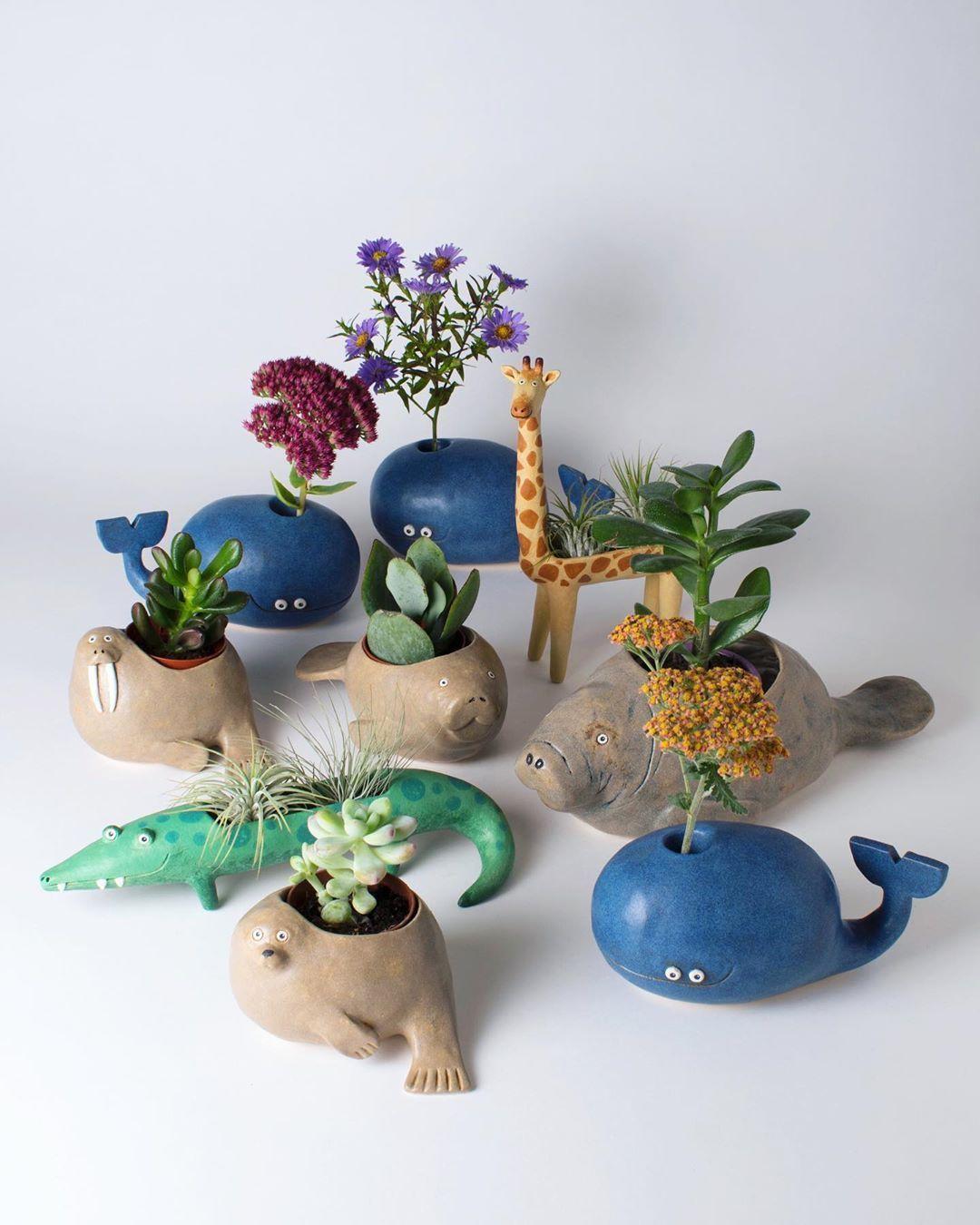 beautiful ceramic creatures noseymungo helen burgess