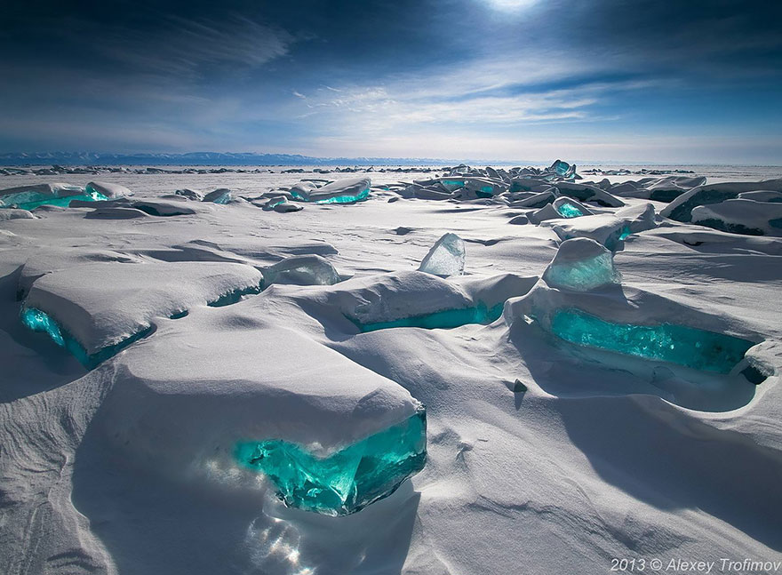 beautiful ice formation frozen ice art alexey trofimov