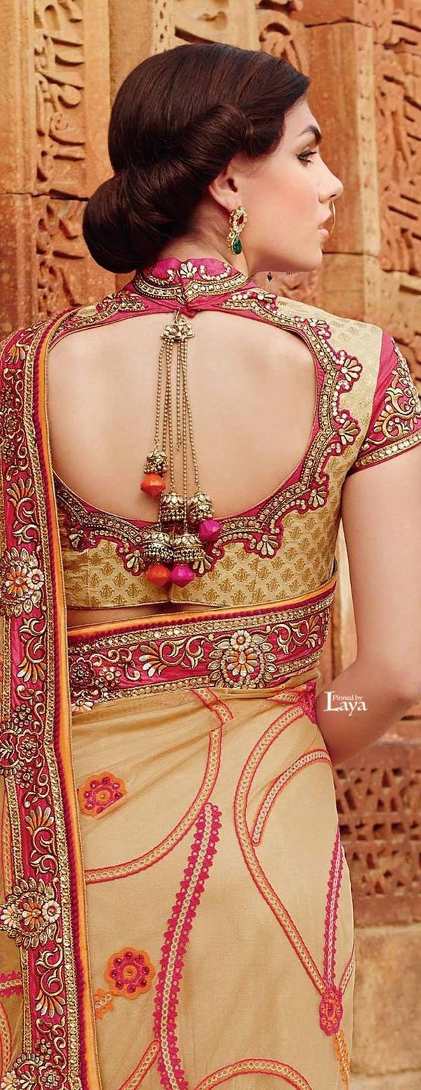 beautiful blouse design
