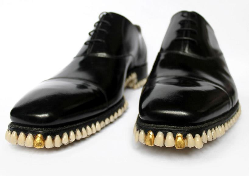 teeth funny shoe pictures
