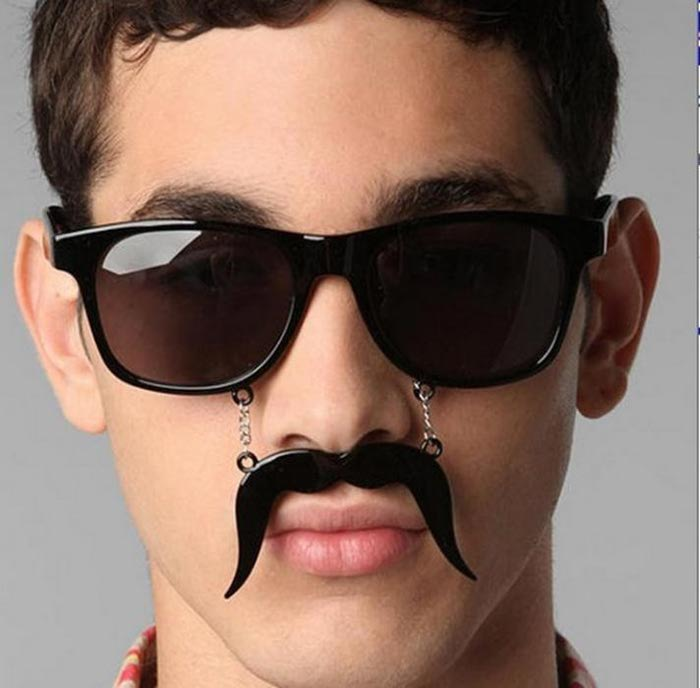 man funny sunglasses picture