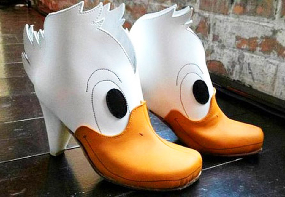 duck funny shoe pictures