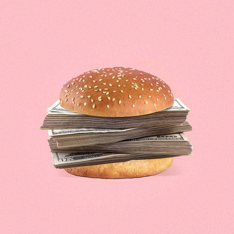 funny photo manipulation burger mohamad kaaki