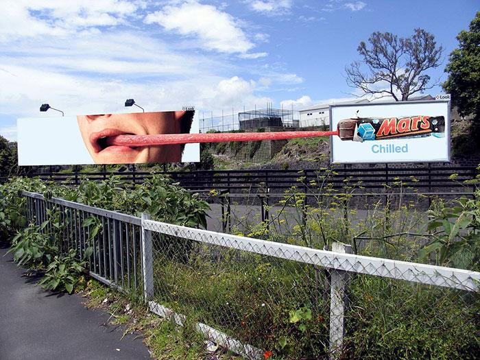 creative billboard mars design found around world