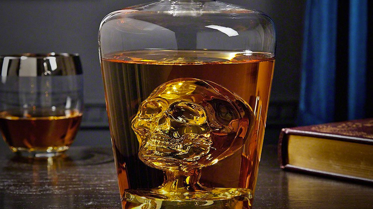 funny gift skull decanter buyers guides