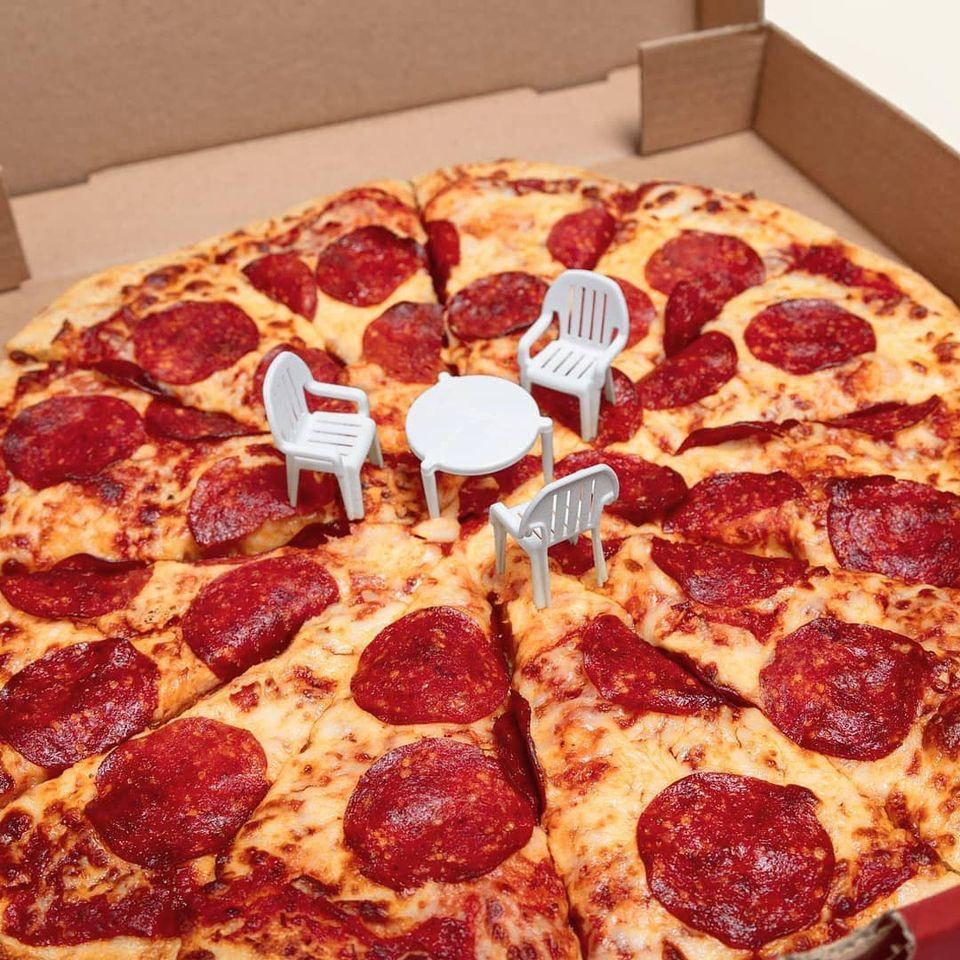 funny photoshopped pizza mohamad kaaki