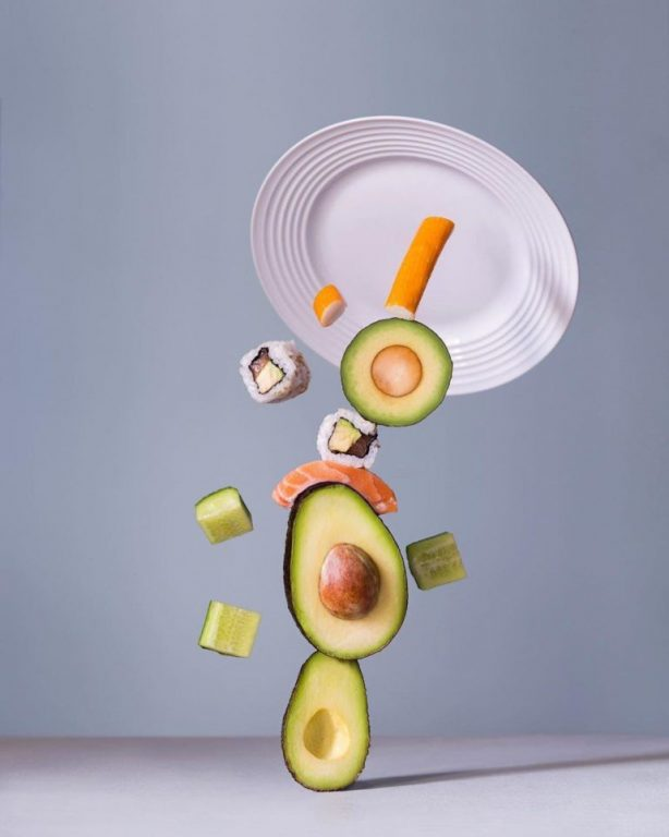 still life photography idea avocado chang ki chung
